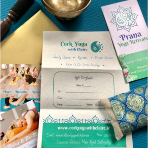 yoga retreat gift voucher